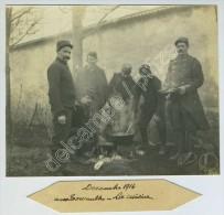Guerre De 1914-18. Chelles. Château Des Tournelles. La Cuisine. - Guerra, Militari