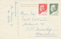 PRESIDENT, PC STATIONERY, ENTIER POSTAL, 1971, YOUGOSLAVIA - Entiers Postaux