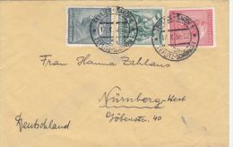 STAMPS ON COVER, NICE FRANKING, SOLDIERS, 1937, CZECHOSLOVAKIA - Briefe U. Dokumente