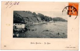 CP, 83, TOULON, Mourillon...Les Bains, Voyagé En 1922 - Toulon