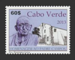 cv1301 Cabo Verde 2013 Homenagem ao padre campos