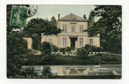 CP , 77 , PROVINS ,  Villa Garnier, Musée - Provins