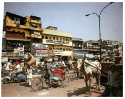 (369) Cycle - Velo - Bicyclette Et Vache - India Delhi - Altri