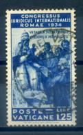 VATICAN - 1935 JURISTS CONGRESS 1.25 BLUE - Vatican