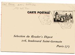 CHARENTE MARITIME De SAINT JEAN D ANGELY Avis De Passage Ets DAMILLEVILLE ( 2 Scans) - Marcophilie (Lettres)