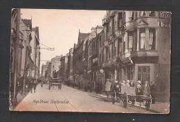 Dunfermline HIGH Street FIFE CARD HAS FAULTS Scotland - Fife