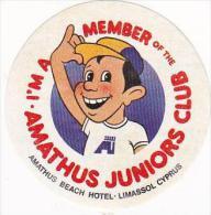 CYPRUS LIMASSOL AMATHUS BEACH HOTEL JUNIOR CLUB VINTAGE LUGGAGE