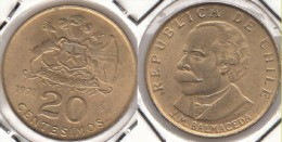 Cile 20 Pesos KM#195 - Used - Chile