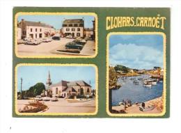 CSM : 29 - Clohars Carnoët : Multivues ( 3 ) : Place - Eglise - Port - Clohars-Carnoët