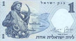 Israel 1 Liros (1958) Pick 30 UNC - Israel