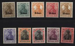 Etappe West,Nr.1-10,xx ,Mi.54,- (3570) - Besetzungen 1914-18