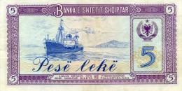 Billet D' ALBANIE - Albanie