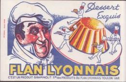 BUVARD       FLAN LYONNAIS - Food