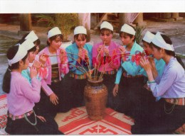 ASIE - VIET NAM - UONG RUOU CAN- DRINKING CAN WINE - CHALUMEAU DE BAMBOU - Viêt-Nam