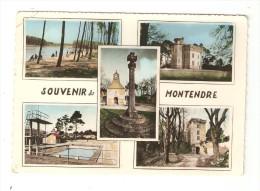 CSM : 17 - Montendre : Mukltivues ( 5 ) :Lac Desqueyroux - Chtaeau Croix Rouge - Piscine - Vieux Chateau - Chapelle - Montendre