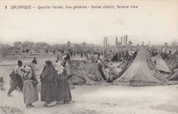 SALONIQUE - Quartier Vardar, Vue Generale -Vardar District, 1919 - Griechenland