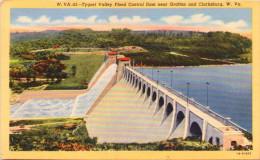 Tygart Valley Flood Control Dam Near Grafton & Clarksburg, West Virginia - Clarksburg