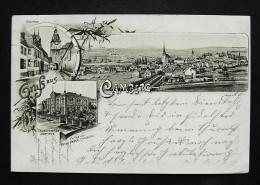 CAMBERG Limburg Weilburg - Vorläufer Litho - Z. B. Taubstummen-Institut - 1897 - Sin Clasificación