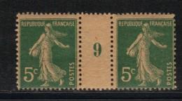 FRANCE N° 137 **  En Paire Millésimée - Millesimes