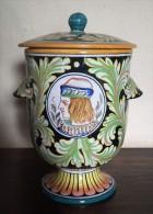Gualdo Tadino Lidded Jar - Pot - Récipient Avec Couvercle - DI 1429 - Gualdo (ITA)