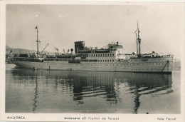 "BATEAUX - ESPAGNE - MALLORCA - Motonave "" EL CIUDAD DE PALMA "" - Passagiersschepen"