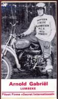 Sticker Zelfklever Motorcrosser Arnold Gabriel - Lembeke - Vignettes Autocollantes