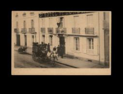 Belle CARTE - Grand Hôtel De Londres - Attelage Chevaux - Diligence - Transport - Cartes Postales