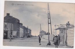 Gembloux, Place De La Gare, 2 Scans - Gembloux