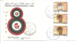 75880) FDC-della Libia- Tripoli International Fair -6 -3-1969 - Libia