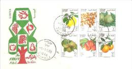 75881) FDC-della Libia- The Fruit -1 -1-1969 - Libya