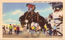 Ride'm Cowboy - Rodeo Scene In South Dakota - Etats-Unis