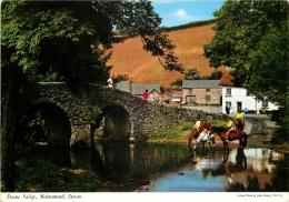 Doone Valley, Malmsmead, Devon, England Postcard John Hinde Unposted - Angleterre