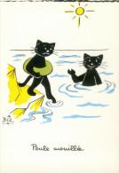 BIZ  Poule Mouillée  (Chat) - Contemporain (à Partir De 1950)