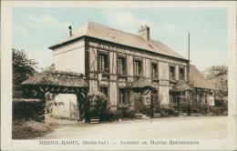 76 MESNIL RAOUL / L'Auberge De Maître Rougetrogne / CARTE COULEUR - Autres Communes