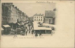 76 NEUFCHATEL EN BRAY / La Place Et La Grande-Rue Notre-Dame Le Jour Du Marché / - Neufchâtel En Bray