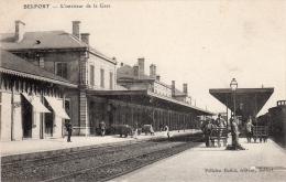 BELFORT - L´intérieur De La Gare - Début 20ème Siècle - Belfort - Ville