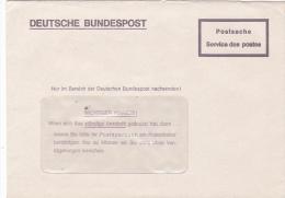 DEUTSCHE BUNDESPOT, POSTASACHE SERVICE DES POSTES - BRD
