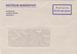 DEUTSCHE BUNDESPOT, POSTGIROAMT, COVER, KOLN - BRD