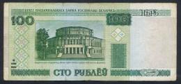 """100 Rublei """"Biélorussie""""  2000 F/Vf Pic 26  Bc 4 - Belarus"""