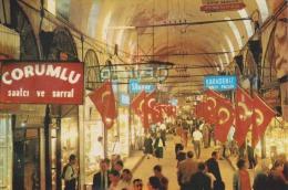 TURQUIE - TURKEY - ISTANBUL - GRAND BAZAR - Comrulu - Non Circulée - 2 Scans - - Turchia