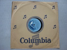 Disque Ancien 78 Tours Gramophone La Voix De Son Maitre : Classique  & - 78 G - Dischi Per Fonografi