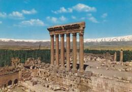 LIBAN - BAALBECK - Les Colonnes Du Temple De Jupiter - Líbano