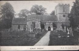 Elmley Church Castle Vintage  OLD POSTCARD  Unused  DOWTY PERSHORE - Worcestershire