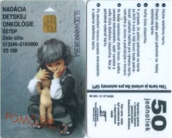 Telefonkarte Slowakei - Puppe -  Aufl. 50000 - 08/93 - Slowakei