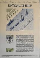 DOCUMENT De La POSTE 1er JOUR 1990 - Pont-Canal De Briare - Briare Le 7.7.1990 - Documents Of Postal Services