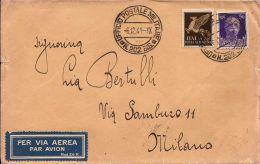FRANCHIGIA POSTA MILITARE 202 BIS 1941 MISSOLUNGI GRECIA X MILANO RARA - 1900-44 Victor Emmanuel III.