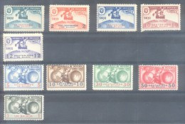 REPUBLICA DE PANAMA - SERIE COMPLETA CARABELAS DE COLON - 1492-1942 SERIE NO EMITIDA MNH TBE RARISIME - Panama