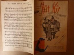 1945 Partition Chanson ARMY HIT KIT  Humour ,sarcasme Ou Parodie (Guering,Goebels, Hitler, Himmler) En Groupe De Chant - Partitions Musicales Anciennes