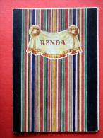 Booklet - Latvian Women National Costumes - Renda - Latvia USSR - Unused - Livres, BD, Revues