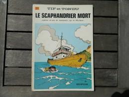 Tif Et Tondu - 21 - Le Scaphandier Mort -  Will Et Tillieux - EO - Tif Et Tondu